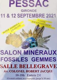 Feria de minerales fósiles de piedras preciosas