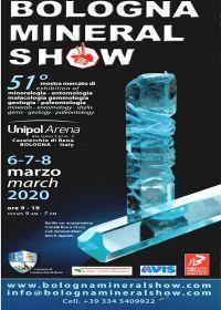 51o show de minerales de Bolonia 2020