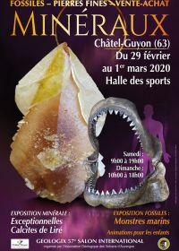 57 Géologic feria de minerales, fósiles y piedras preciosas