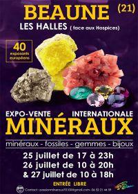 Feria de minerales y fósiles