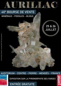 40º Becas de minerales fósiles y joyería