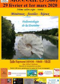 34 feria de minerales y fósiles