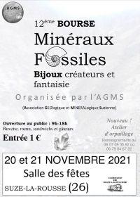 12 ° intercambio de minerales, fósiles y joyas