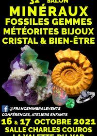 32a Feria de Minerales Evento La Valette-du-Var - Minerales, Fósiles, Cristal y Bienestar, Gemas, Joyas