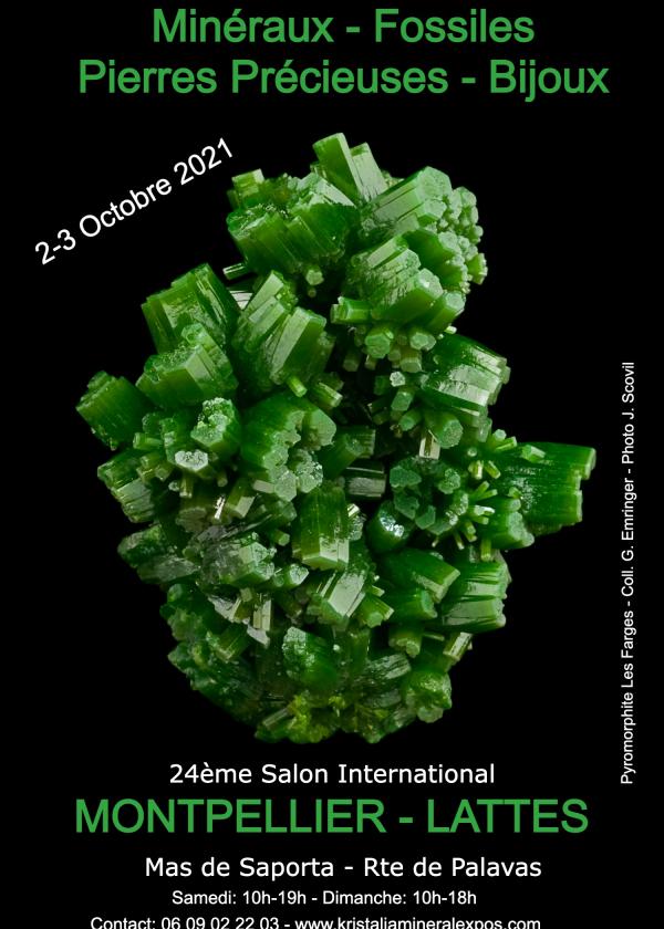 24a feria internacional de joyería de minerales fósiles