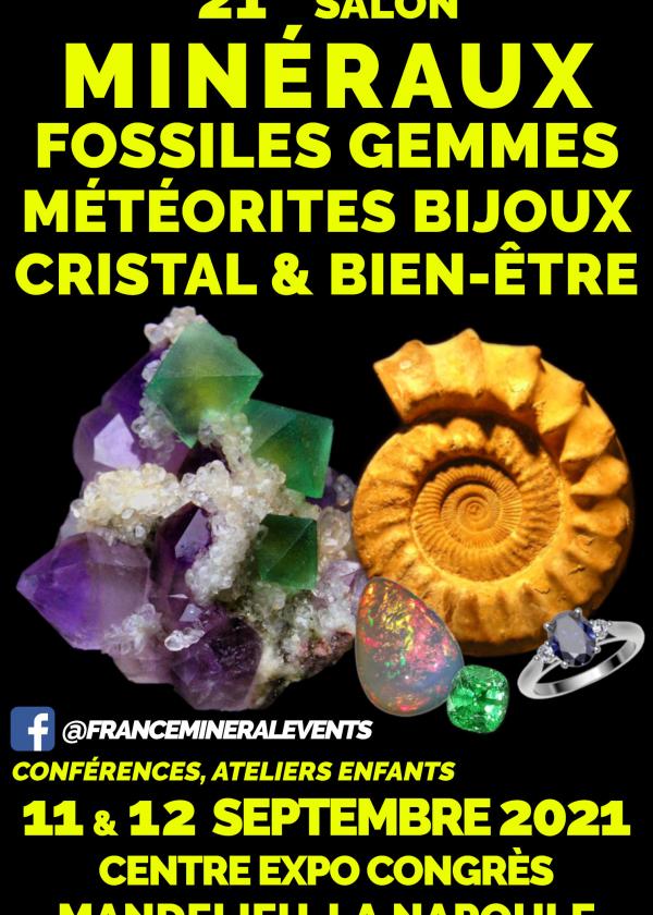 21a Feria de Gemas de Minerales Fósiles