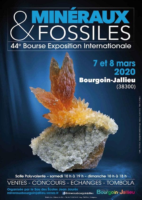 44º intercambio de minerales y fósiles e intercambio de intercambio