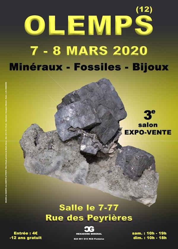 Tercera feria de joyería de minerales fósiles