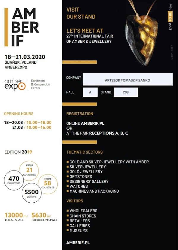 Exposición internacional de ámbar, joyas y gemas