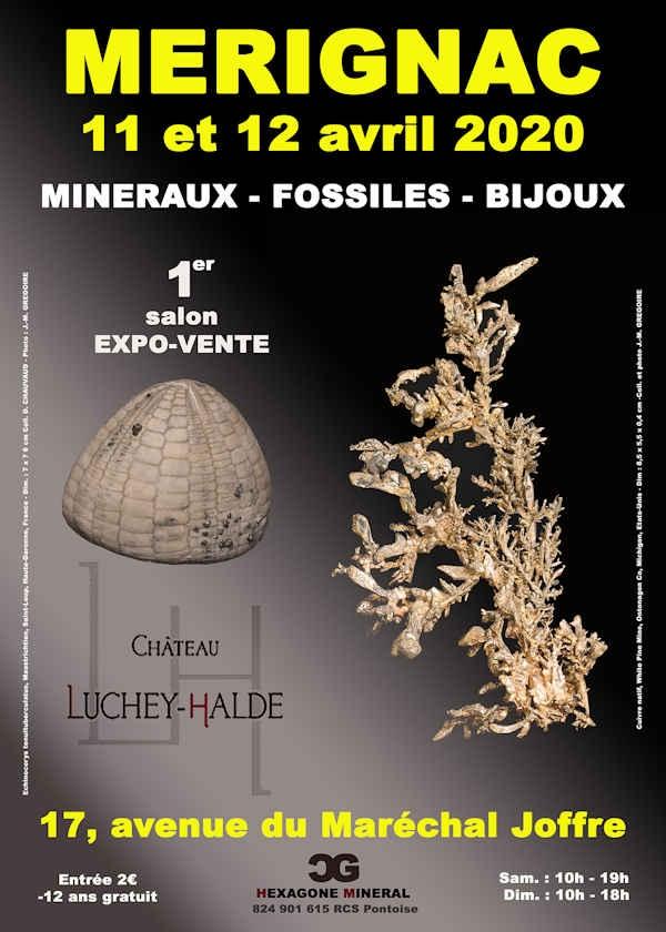 1ª edición de la feria de minerales, fósiles y joyería.