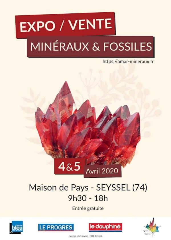 13ª edición venta de minerales y fósiles