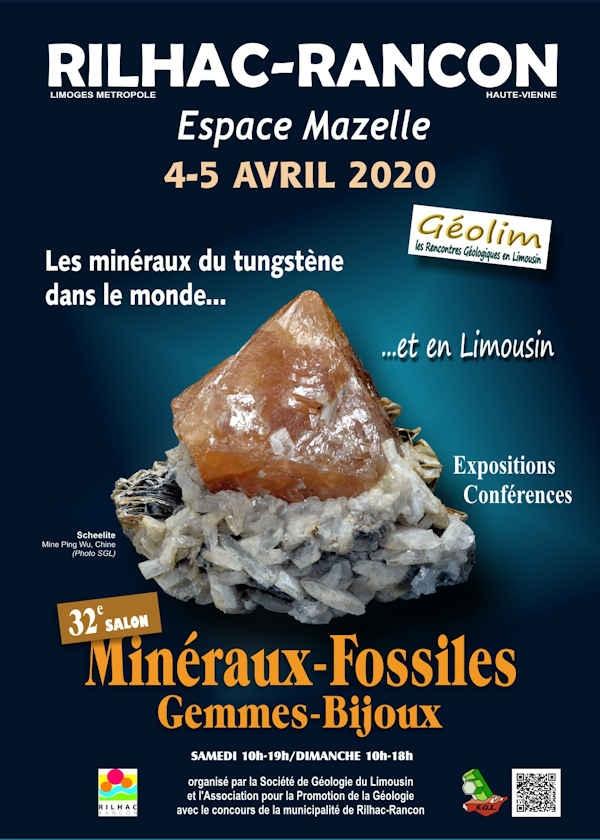 32ª exposición de gemas y joyas de minerales fósiles.