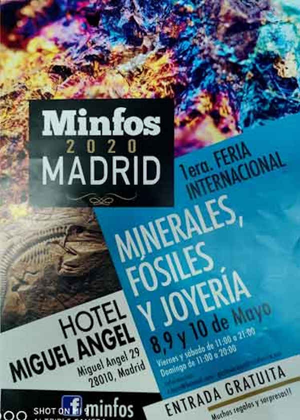 Primera Feria Internacional de Minerales, Fósiles y Joyas