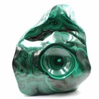 Malaquita piedra abstracta ornamento forma