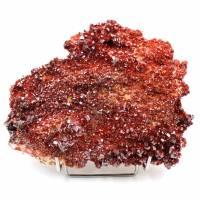 Cristales de piedra de vanadinita