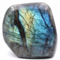 Adorno de forma libre de piedra labradorita