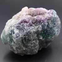 Fluorita verde púrpura