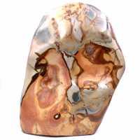 Gran bloque de jaspe estampado 10 kilo, piedra ornamental