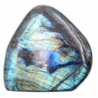 Labradorita multicolor, forma libre para decoración