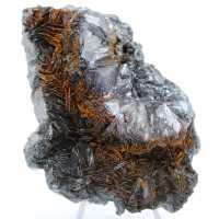 Cristalización de hematites en gange de hematites