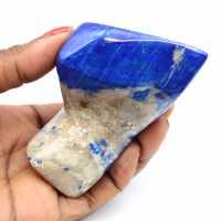 Piedra de colección en lapislázuli
