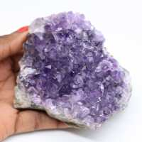 Amatista cristalizada natural