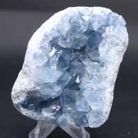 Bloque de cristales naturales de Celestita