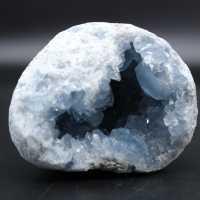 Celestita cristalizada natural