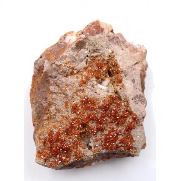 Cristales de vanadinita en gangue
