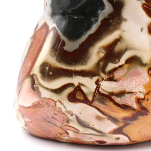 Bloque ornamental de 4,5 kilos pulido jaspe estampado