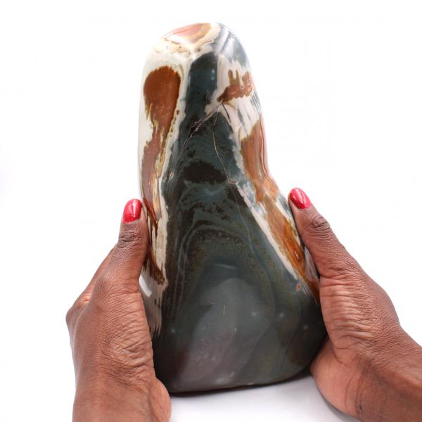 Jaspe estampado 2,5 kilo, piedra decorativa