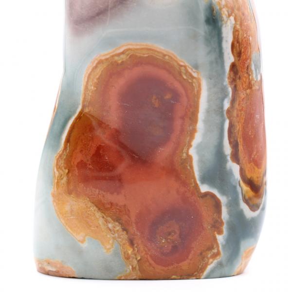 Piedra decorativa en jaspe estampado, 3,5 kilo