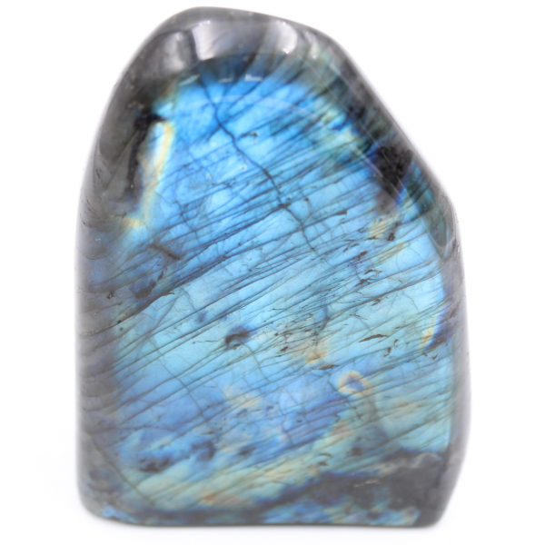 Bloque de labradorita azul, piedra ornamental