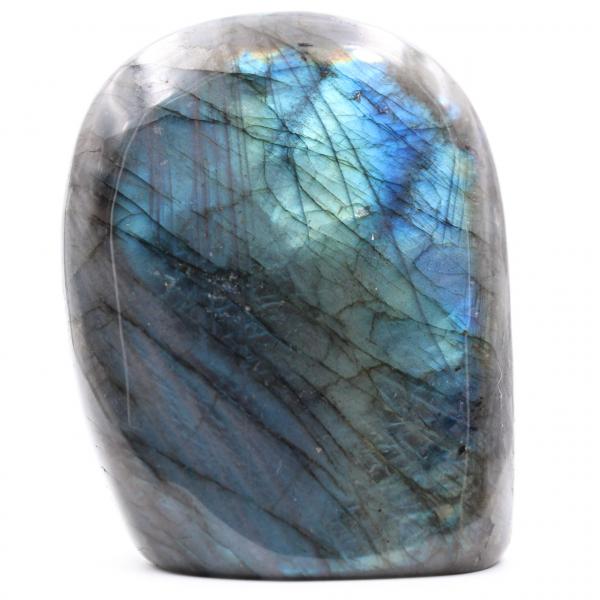 Bloque de piedra de labradorita azul