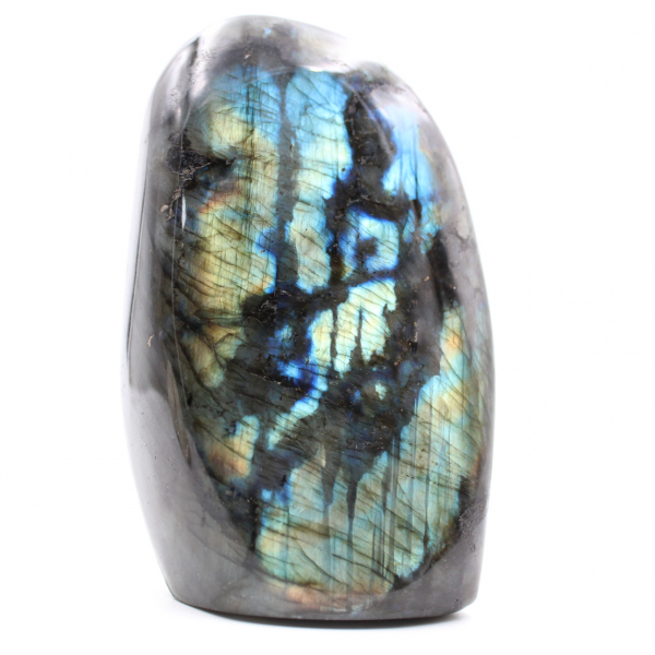 Piedra de adorno de labradorita multicolor