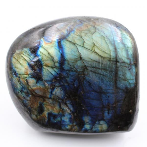 Piedra decorativa, labradorita pulida