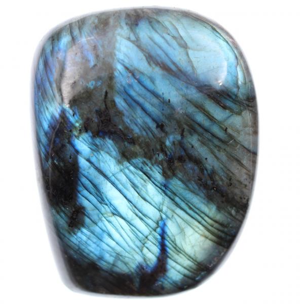 Piedra azul labradorita, bloque decorativo