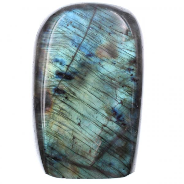 Piedra de labradorita azul para adorno y decoración