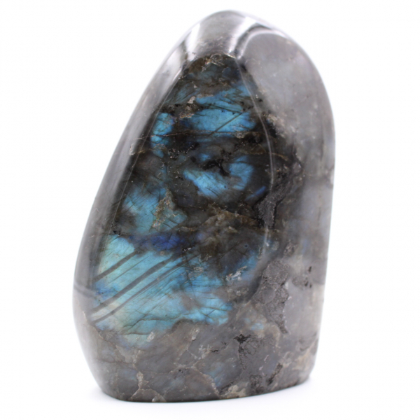 Piedra labradorita pulida