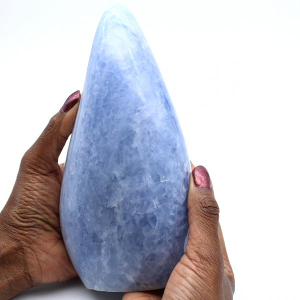 Roca de calcita azul