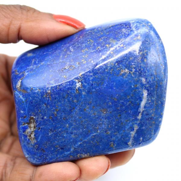 Piedra ornamental lapislázuli pulida