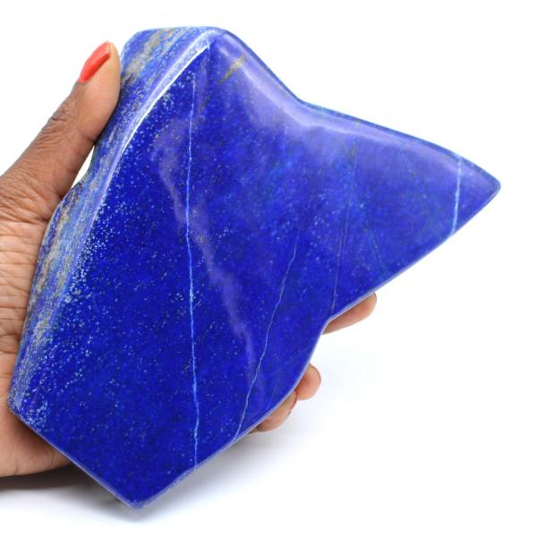 Piedra lapislázuli pulida