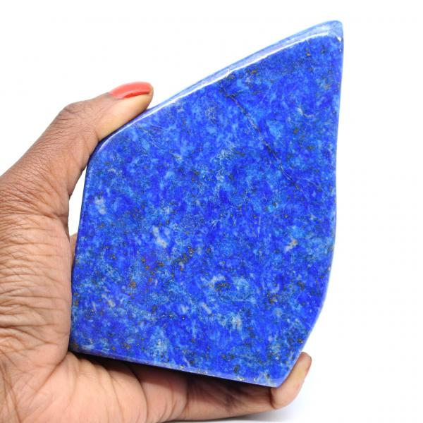 Piedra lapislázuli pulida natural