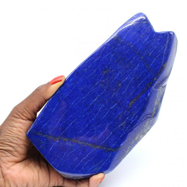 Piedra de coleccionista de lapislázuli pulido grande