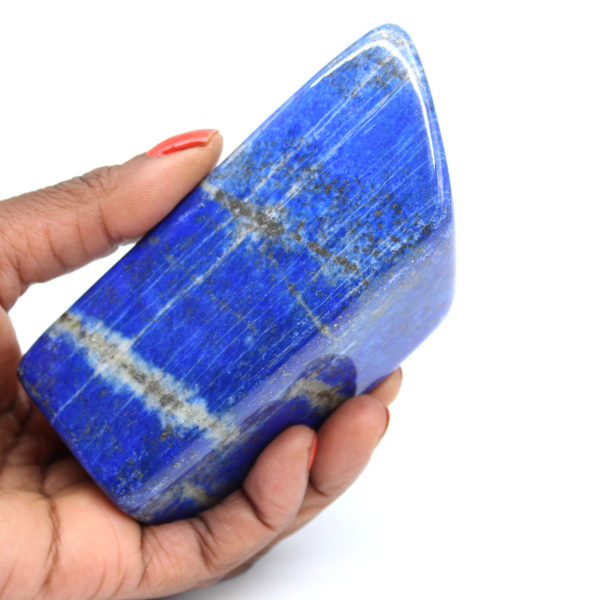 Lapislázuli piedra pulida